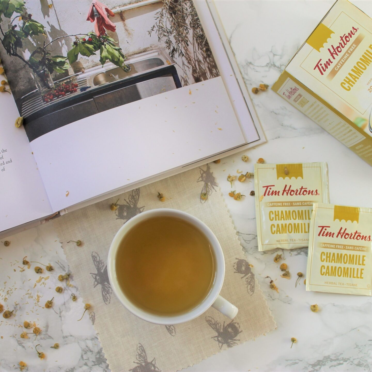 Tim Hortons Chamomile Herbal Tea Review
