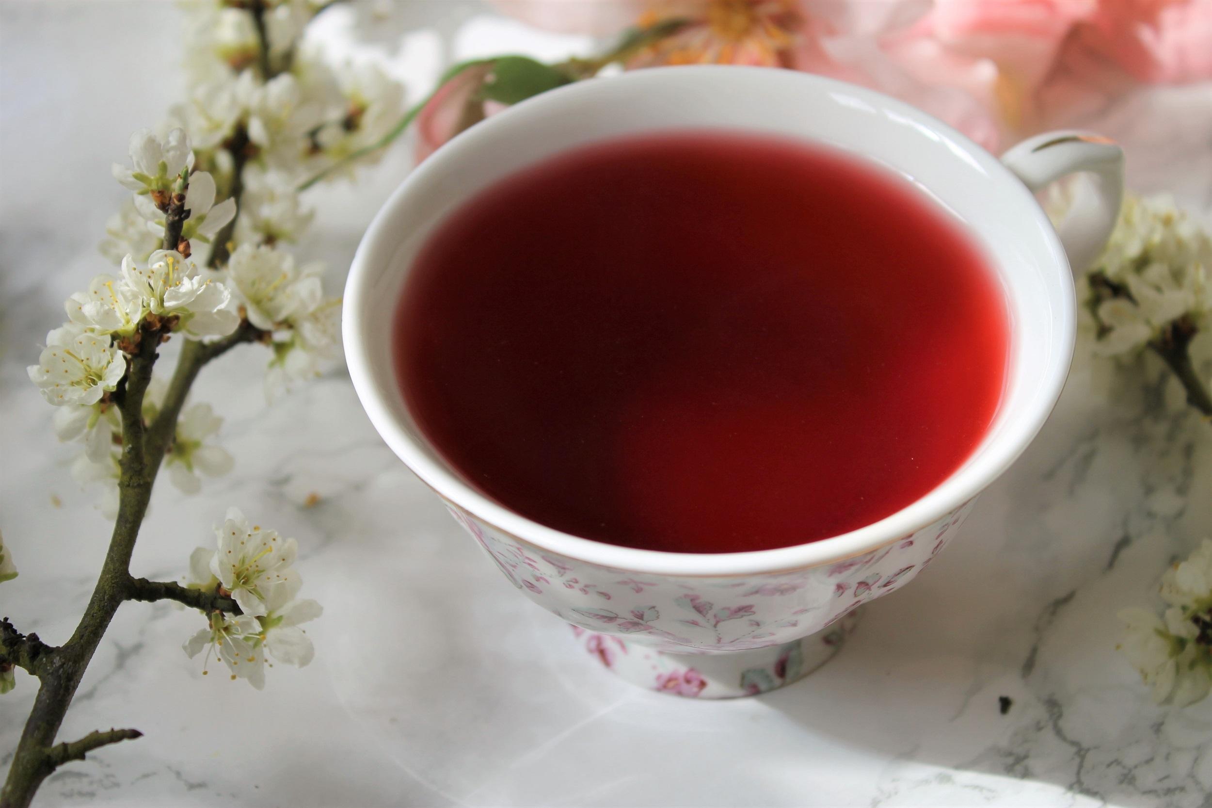 hibiscus fruit tea