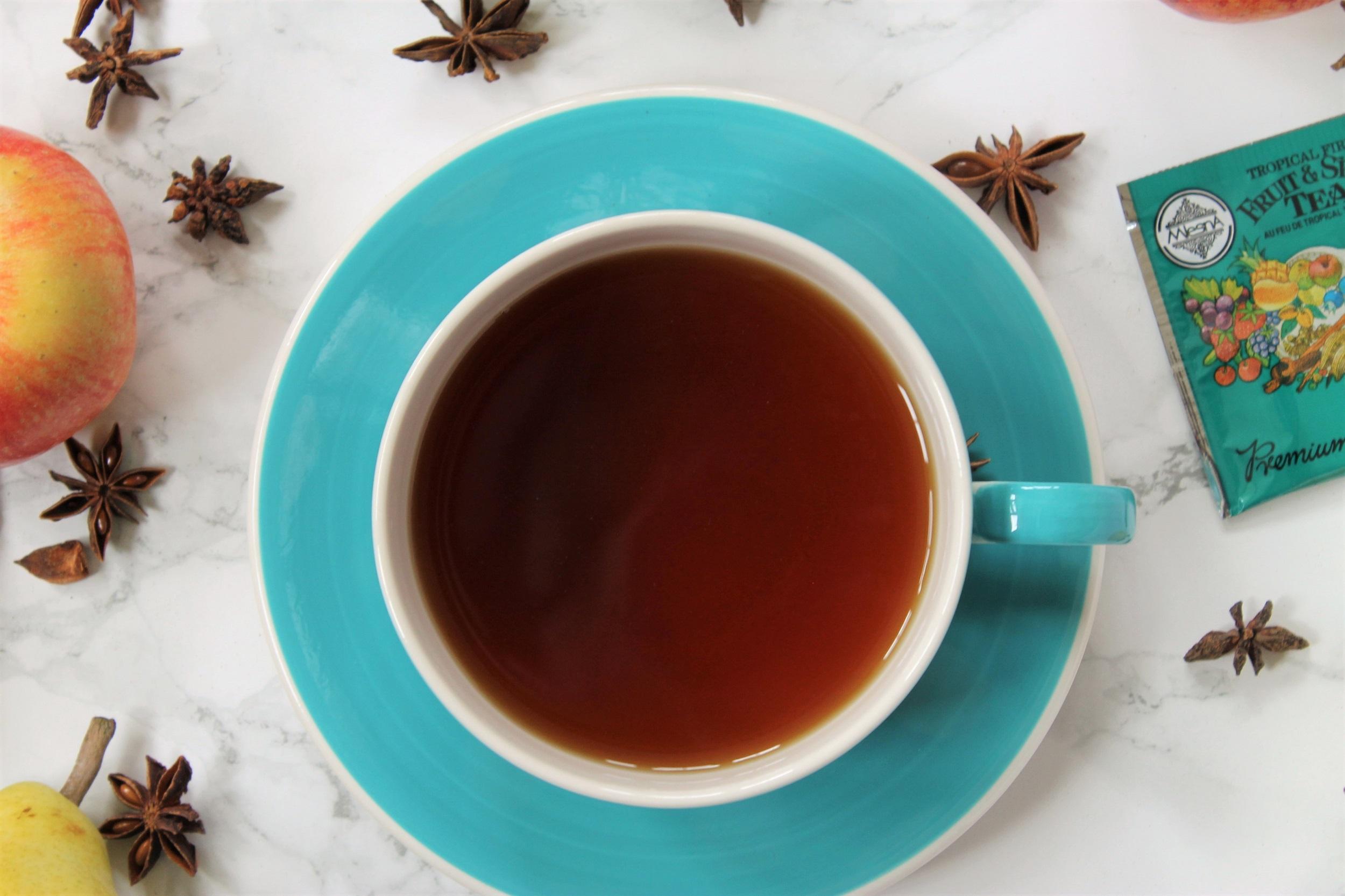mlesna fruit and spice tea