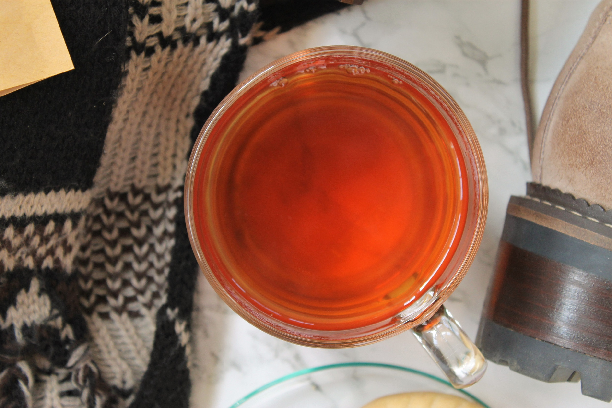 spiced lapsang souchong tea