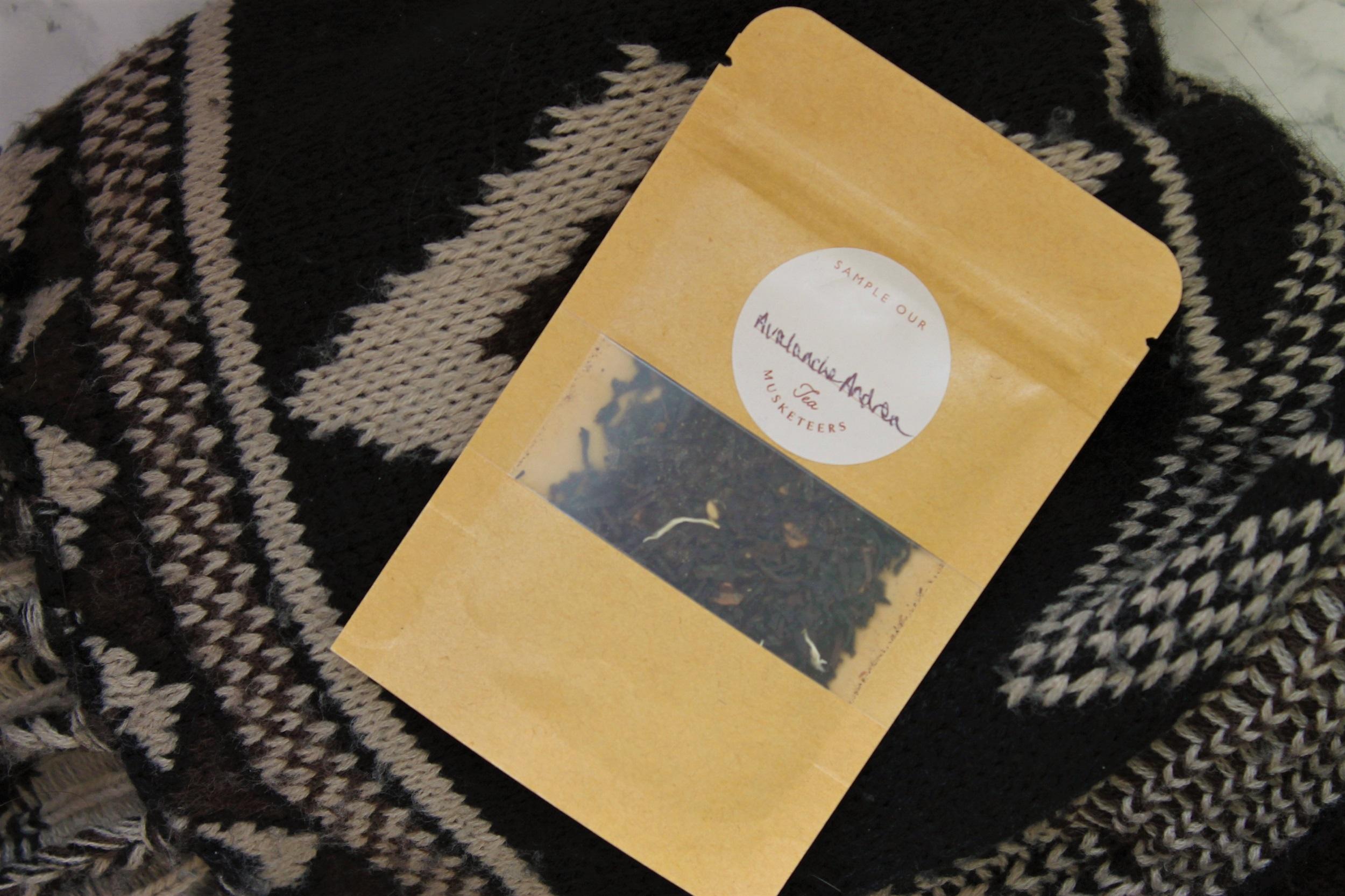 tea musketeers loose leaf sample