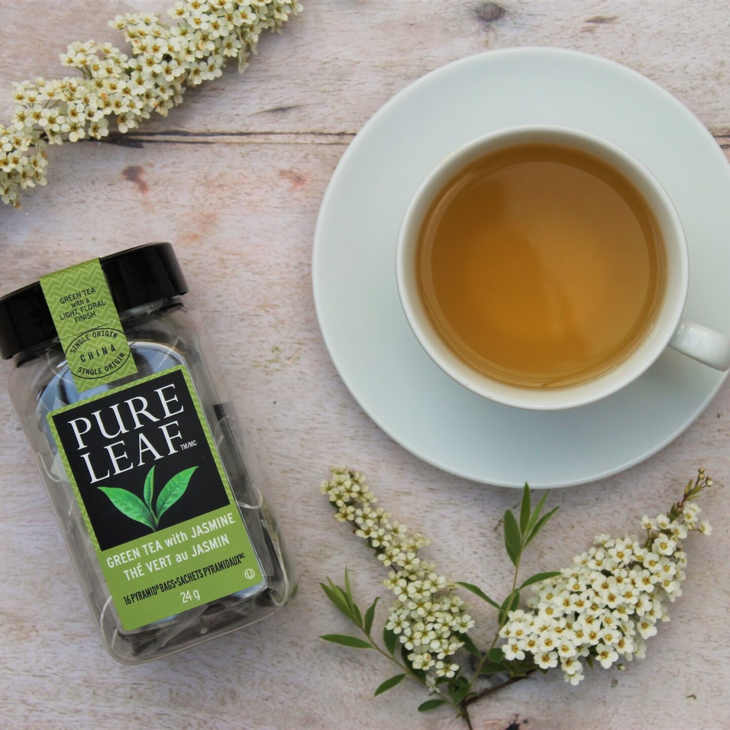 Pure Leaf Green Tea with Jasmine Tea Review