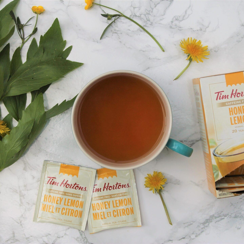 Tim Hortons Honey Lemon Tea Review
