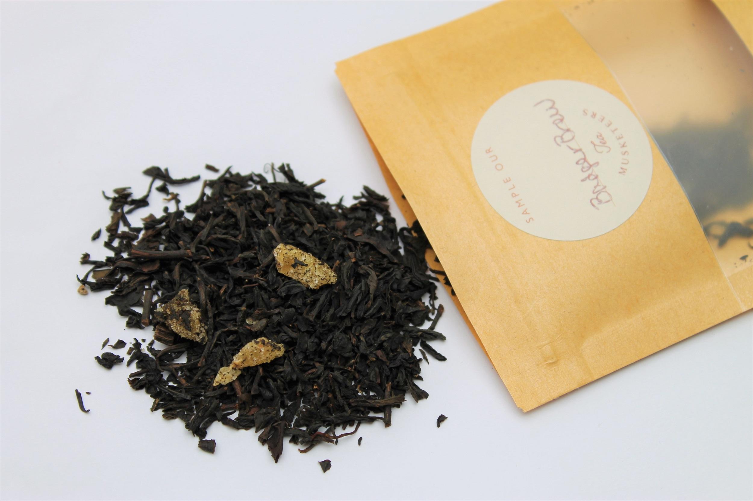 ginger vanilla black tea