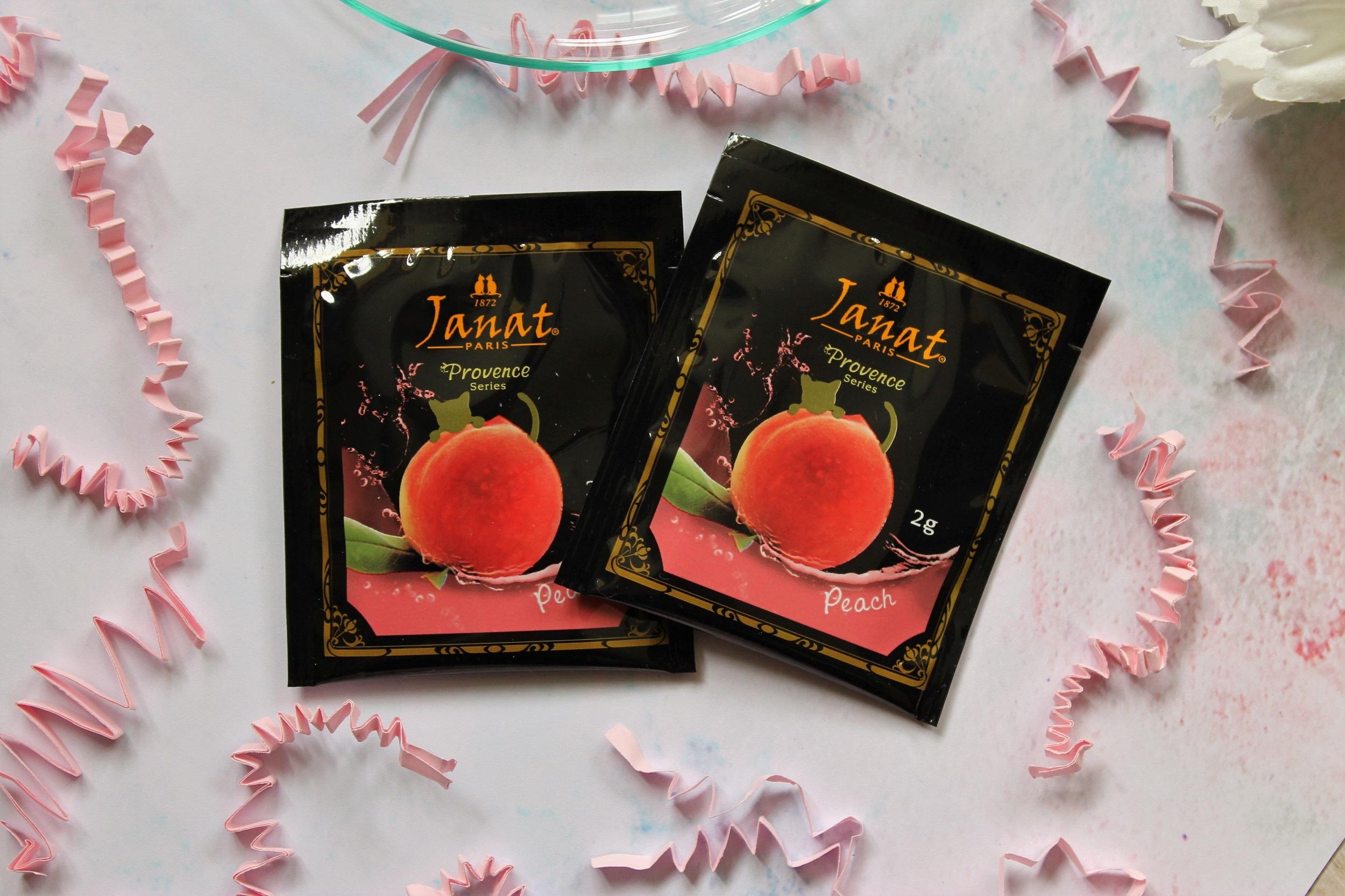 janat peach tea bags