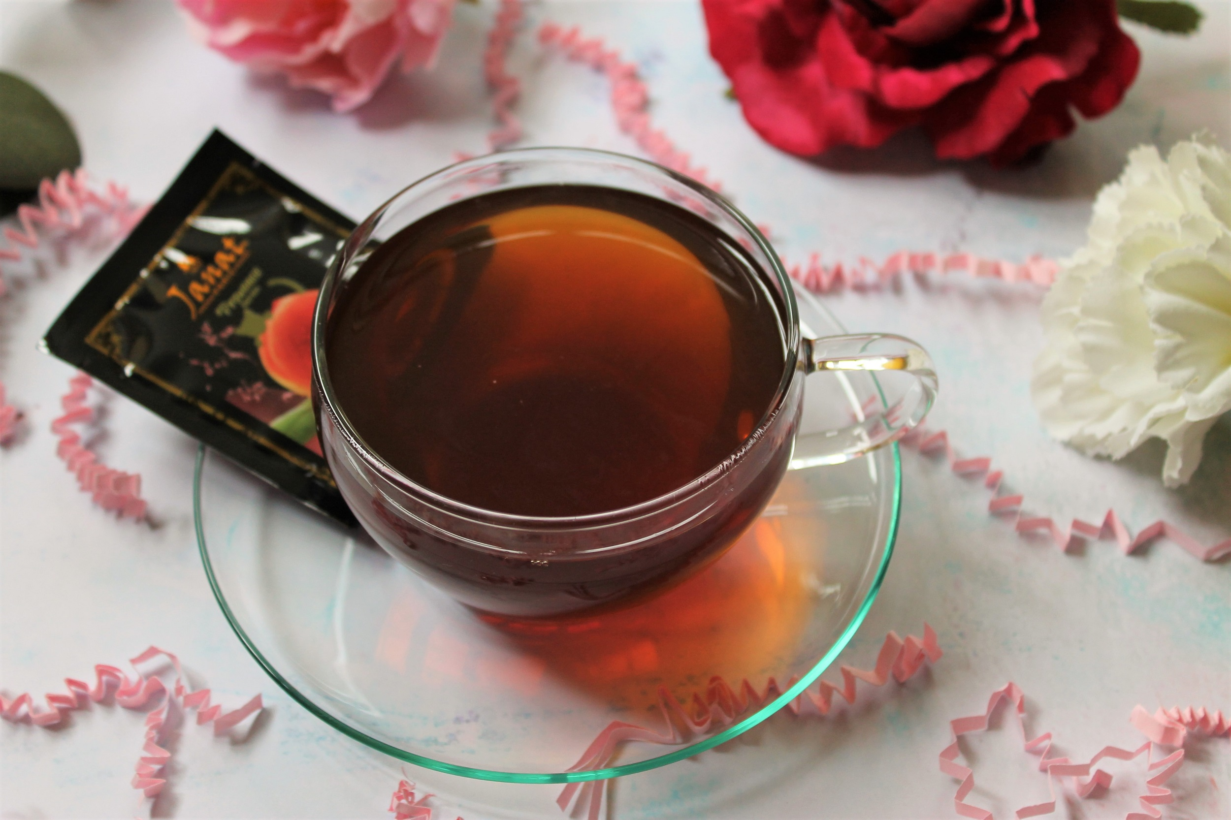 peach black tea by janat