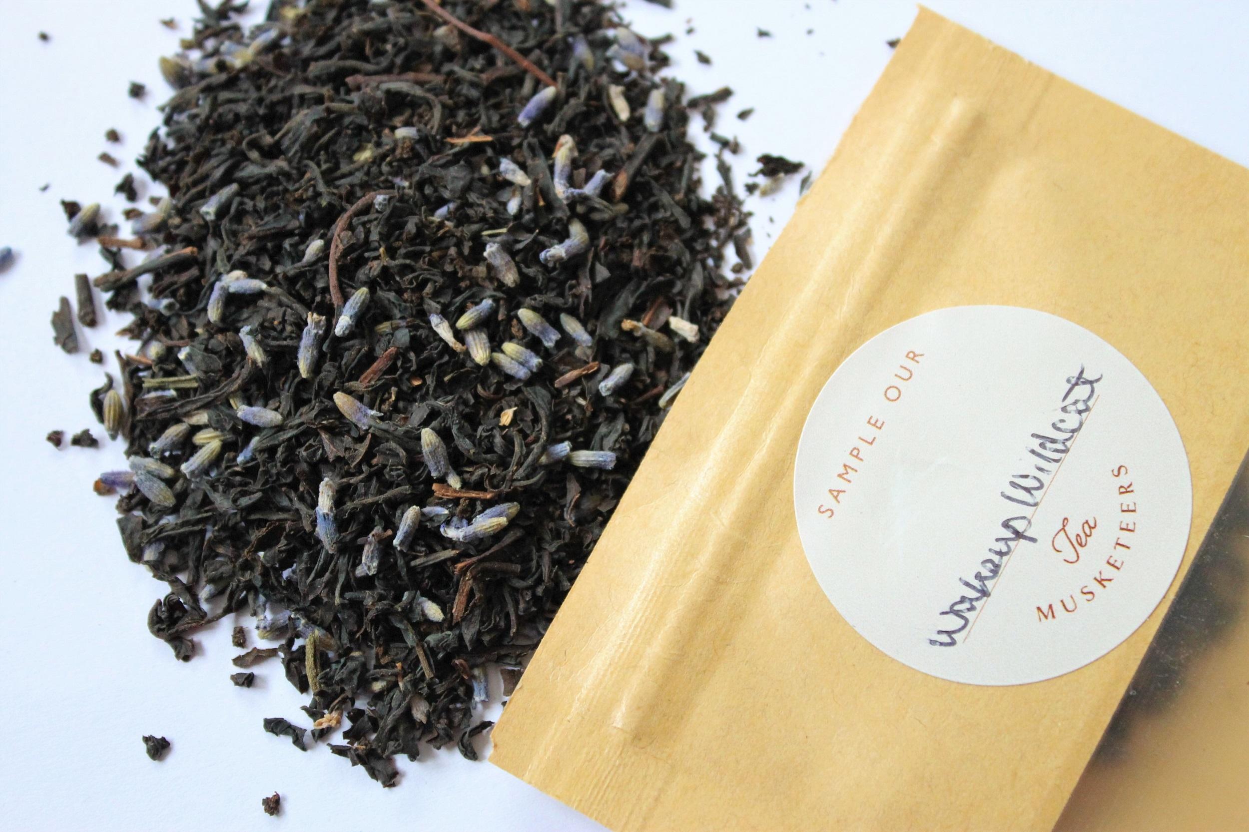 tea musketeers lavender black tea