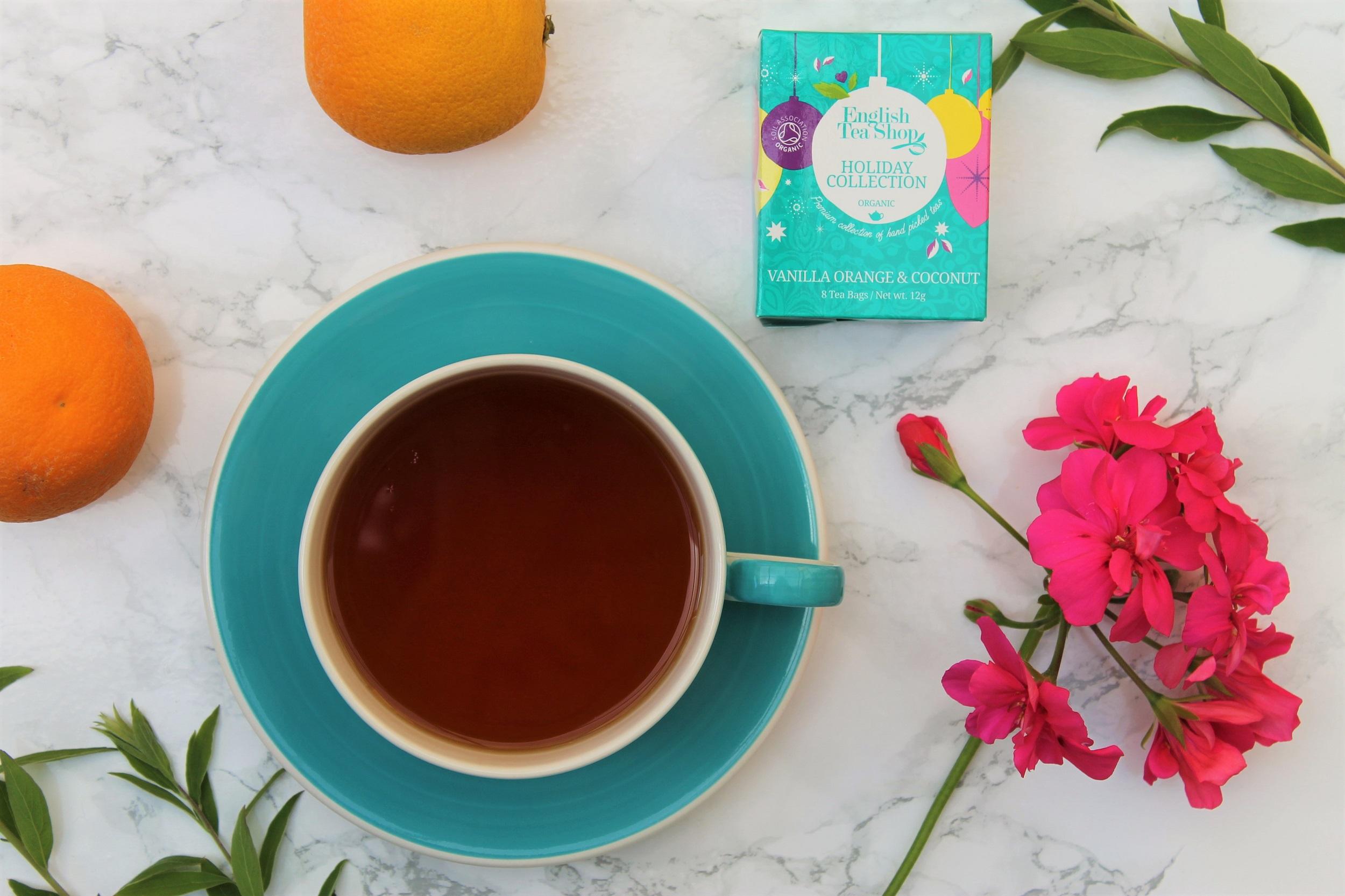 English Tea Shop Vanilla Orange & Coconut Tea Review