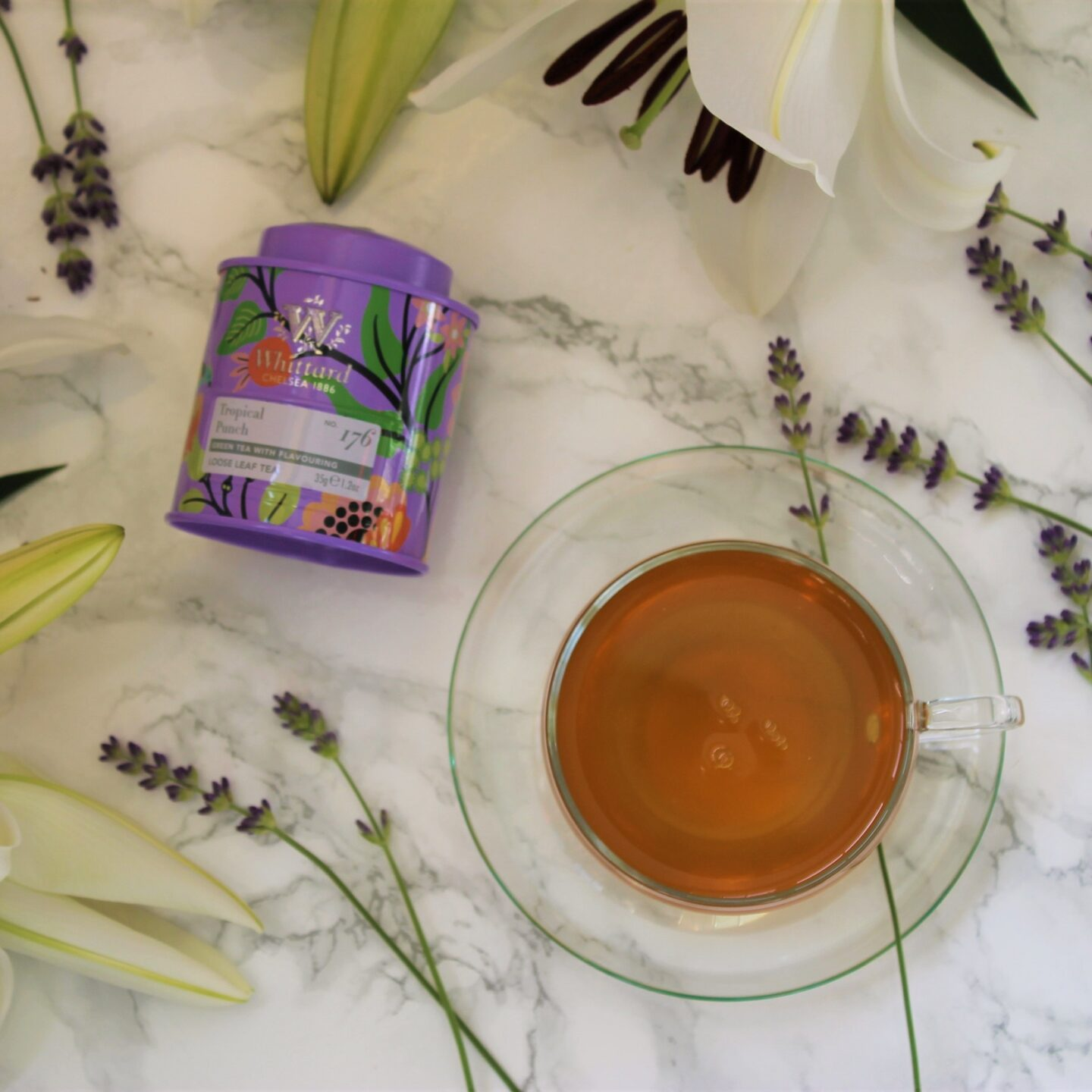 Whittard Tropical Punch Green Tea Review