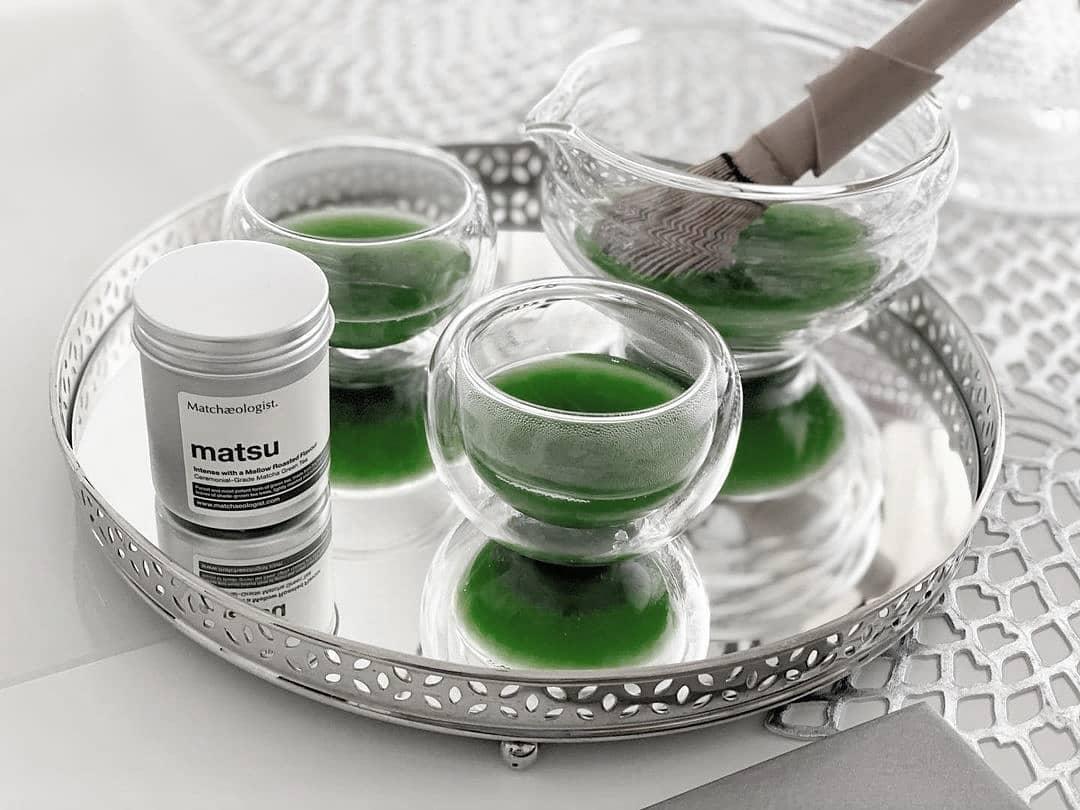 matchaeologist glass teaware
