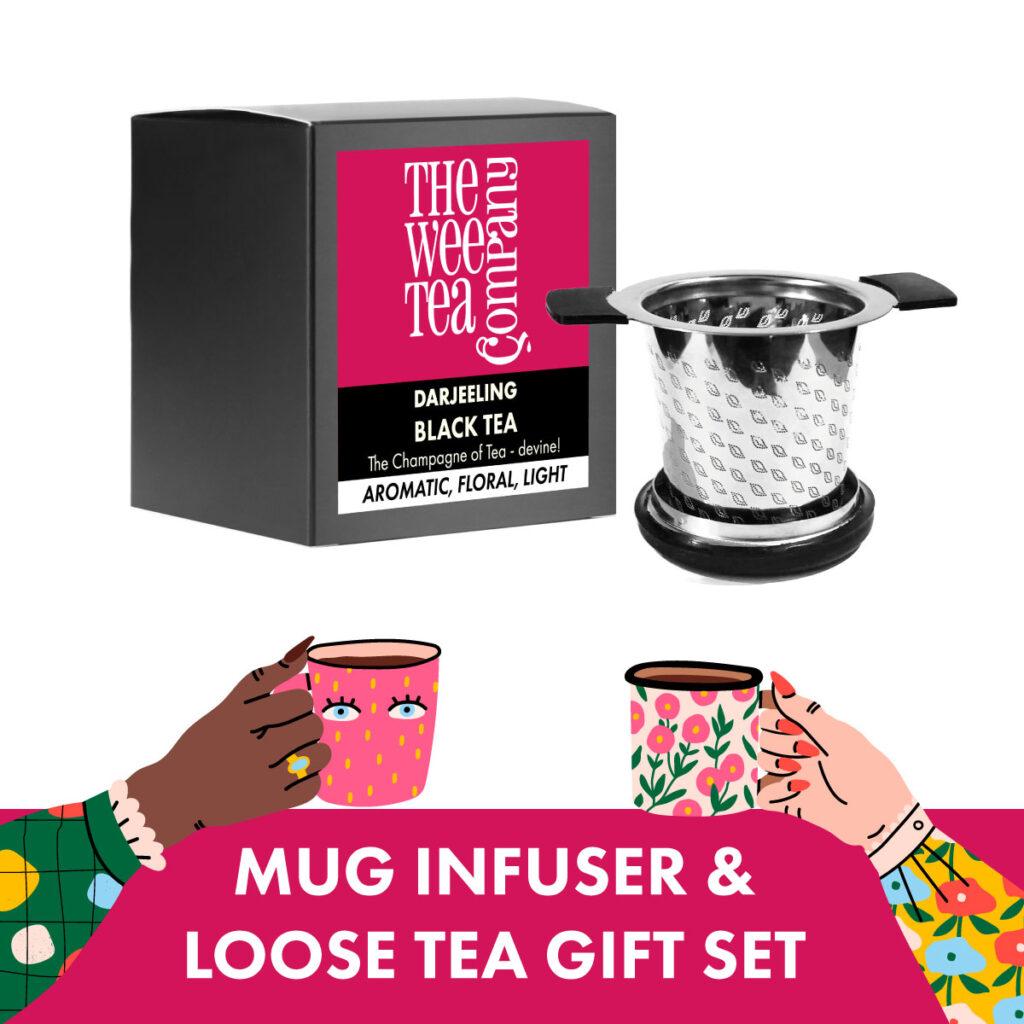 Loose Leaf and Mug Tea Strainer