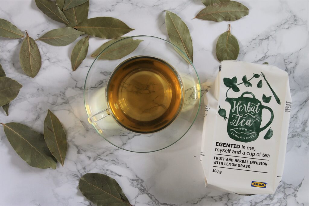 IKEA Egentid Fruit and Herbal Infusion with Lemon Grass Tea Review