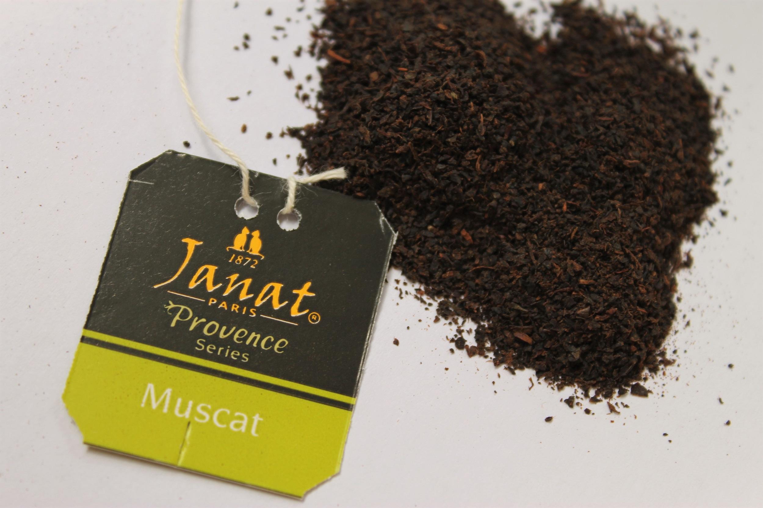 grape flavoured black tea