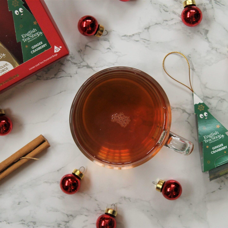 English Tea Shop Ginger Cranberry Tea Review