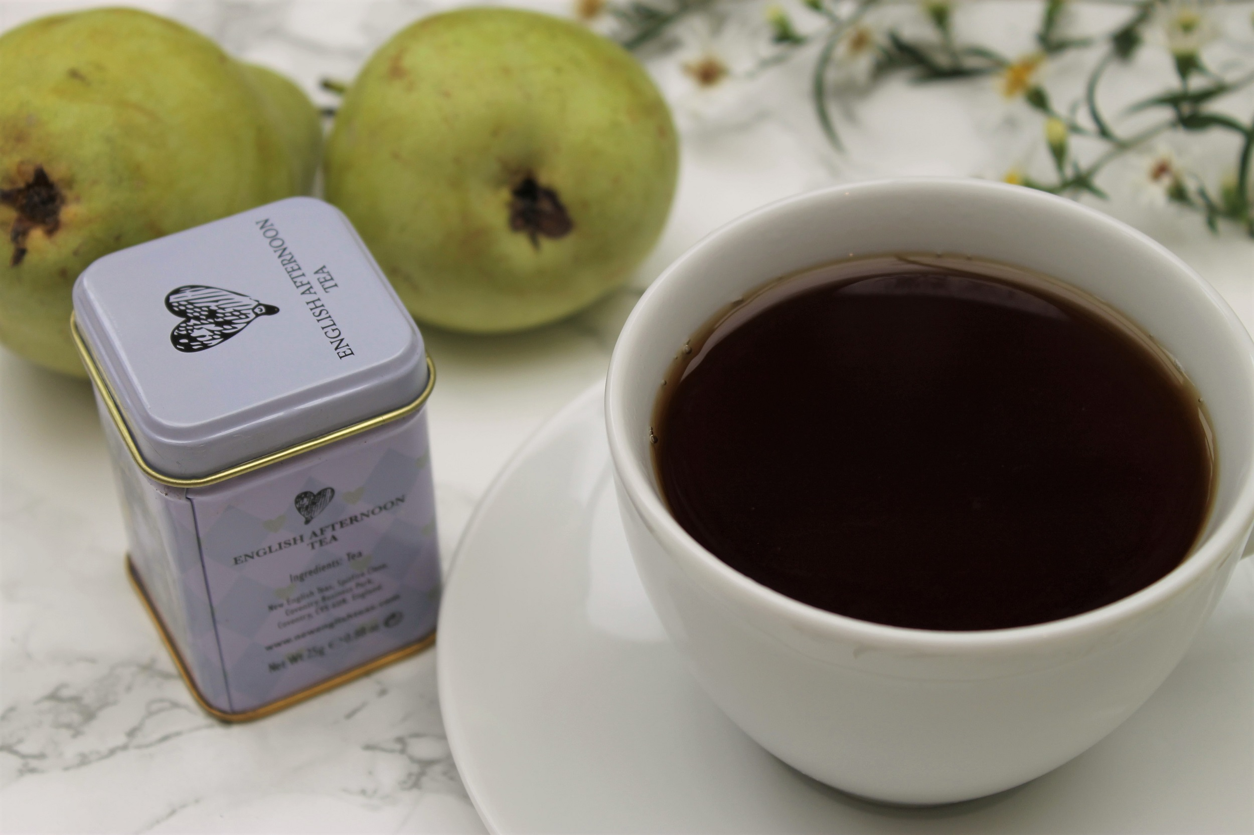 afternoon tea by new english teas