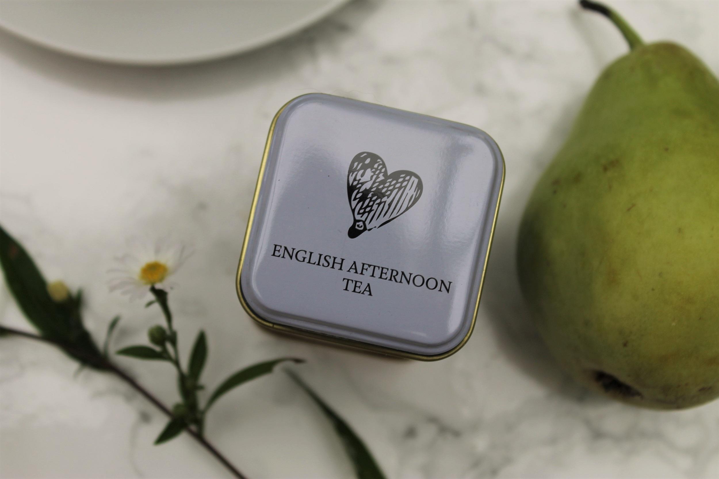 english afternoon tea tin