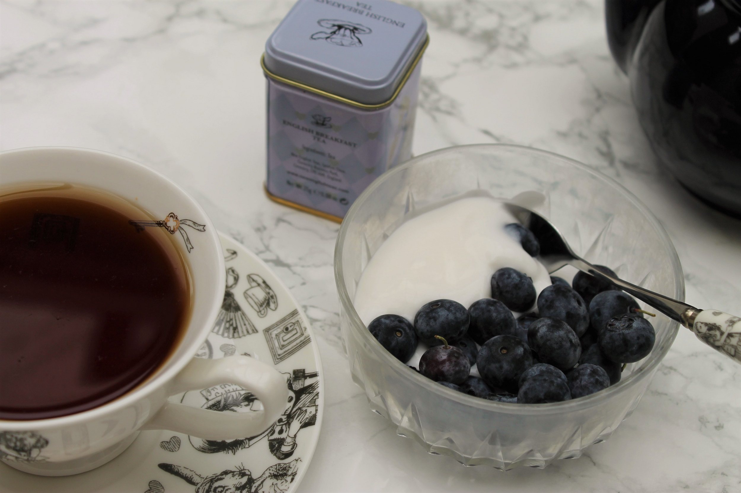 new english teas english breakfast with blueberries