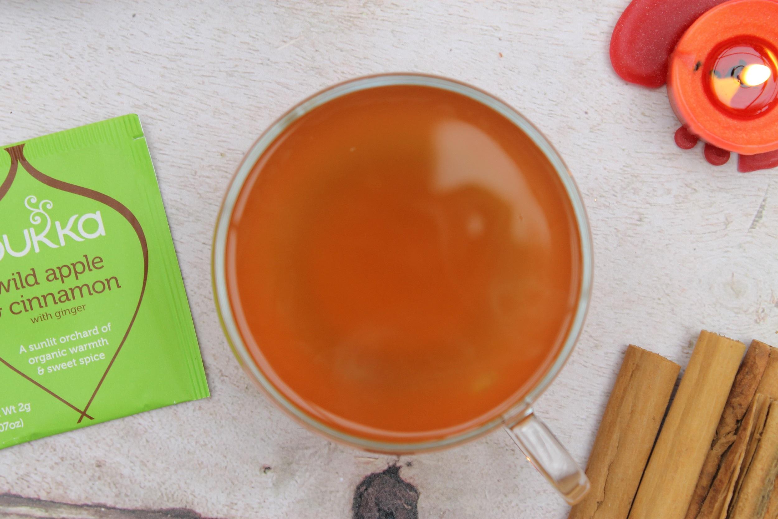 pukka wild apple cinnamon tea