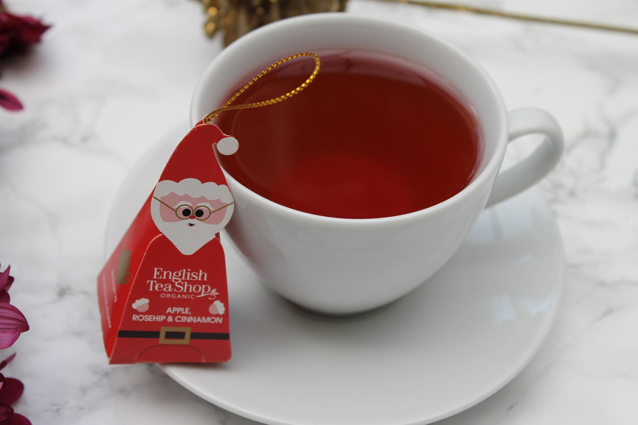 hibiscus fruit tea blend for Christmas