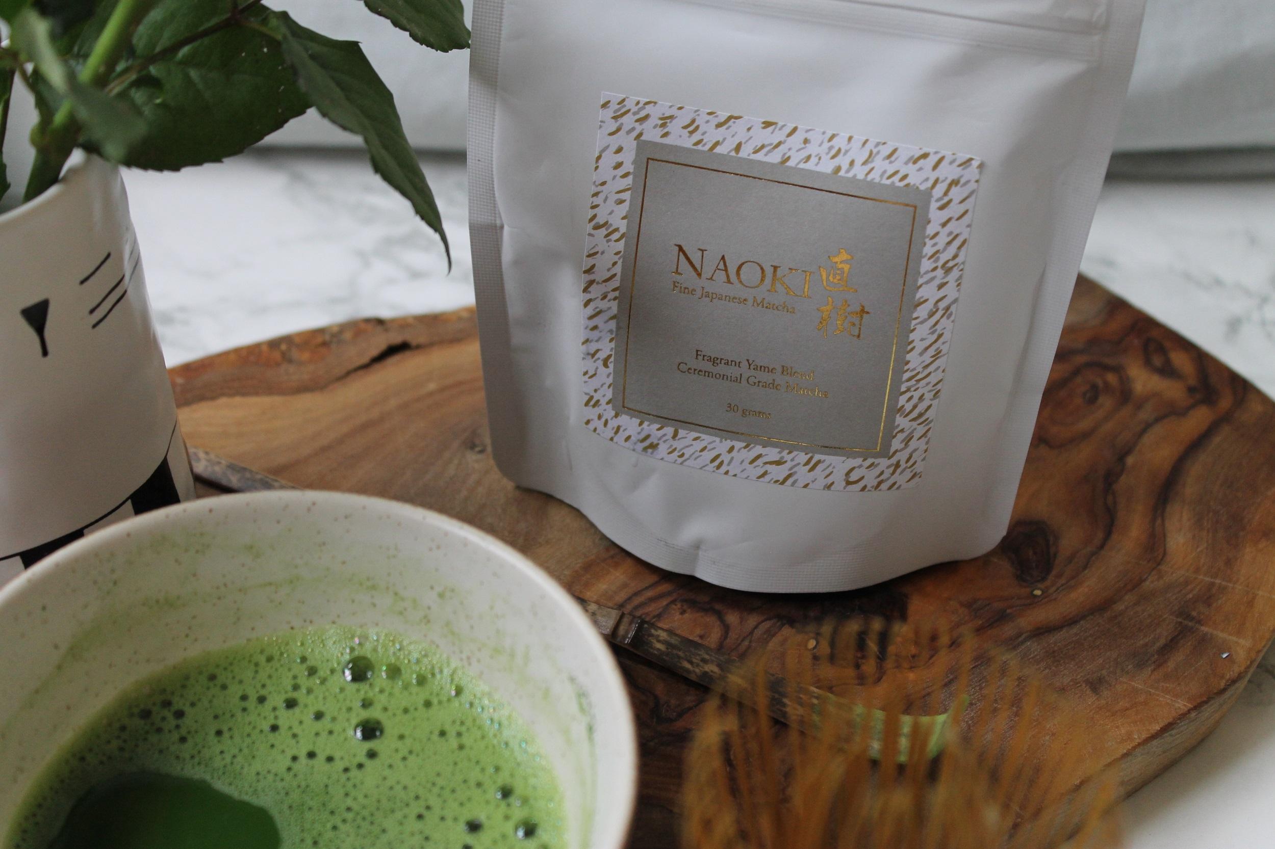 naoki fragrant yame matcha blend